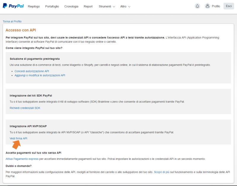 paypal API step2