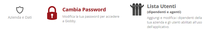 Recupero password interno
